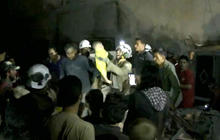 Warplanes continue brutal assault on Aleppo