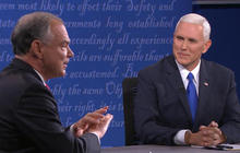 VP candidates focus debate attacks on Clinton and Trump