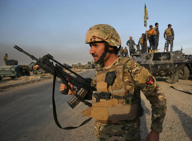 The battle to retake Mosul