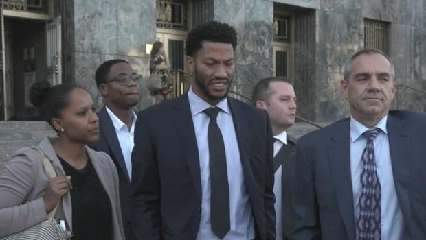 Jury weighing rape claims against Derrick Rose