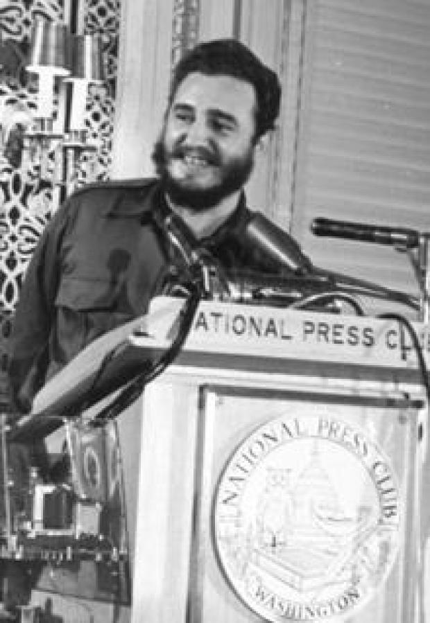 国家压俱乐部菲德尔·卡斯特罗1959年 - 库的-congress.jpg