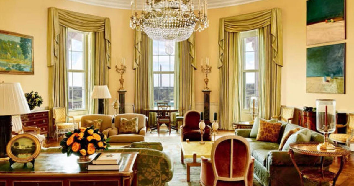 Rare White House Residence Photos Released In Obamas Final Days Cbs News