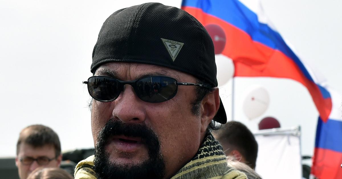 Steven Seagal given Russian citizenship by Vladimir Putin's government ...