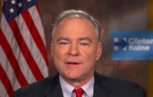 "VP nominee Tim Kaine on today's ""history-making election"""