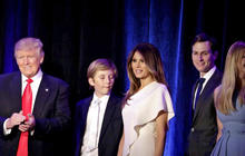 How Trump first family breaks the mold