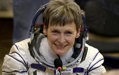Peggy Whitson, 56, making history as oldest woman in space