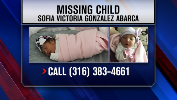 Missing Kansas baby found safe in Dallas