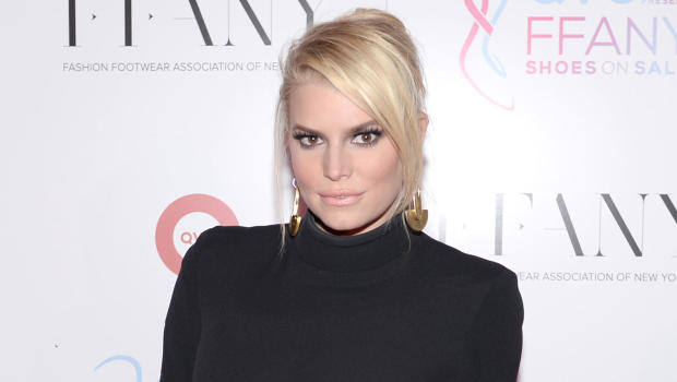 Amazing Jessica Simpson Hints At New Music Release Date Cbs News Easy Diy Christmas Decorations Tissureus