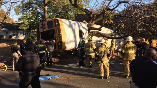 Multiple deaths in Chattanooga school bus crash