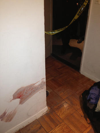 Crime scene photos: NYC sledgehammer attack