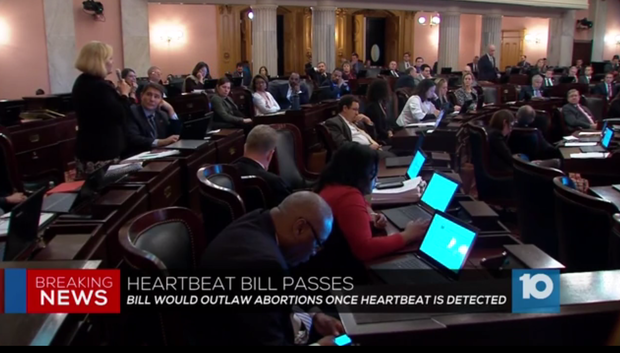 "Ohio ""heartbeat bill"" headed to Gov. Kasich's desk"