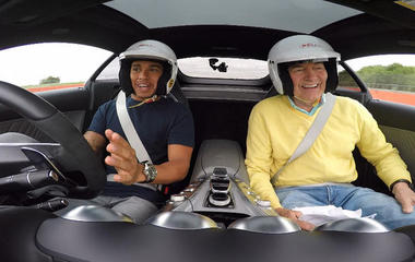 Getting up to speed with Lewis Hamilton