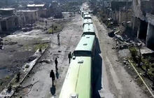 Aleppo evacuations halted after attack