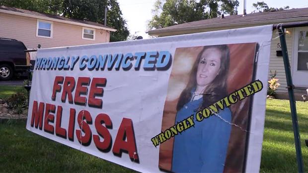 """Free Melissa Calusinski""标志"