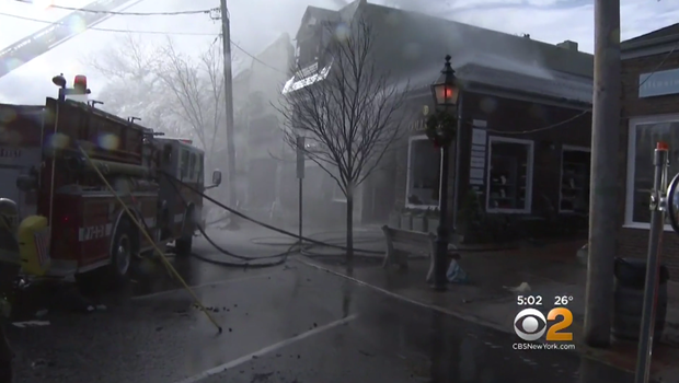 Big fire shuts Sag Harbor's Main Street, officials say