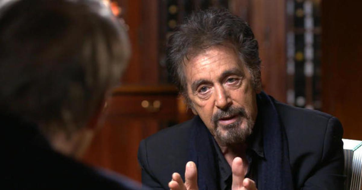 Al Pacino talks legend... Al Pacino