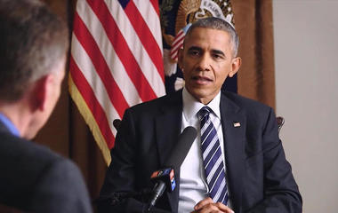 Steve Inskeep on his wide-ranging interview with President Obama