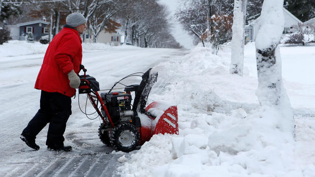 Some in New England pummeled with almost two feet of snow