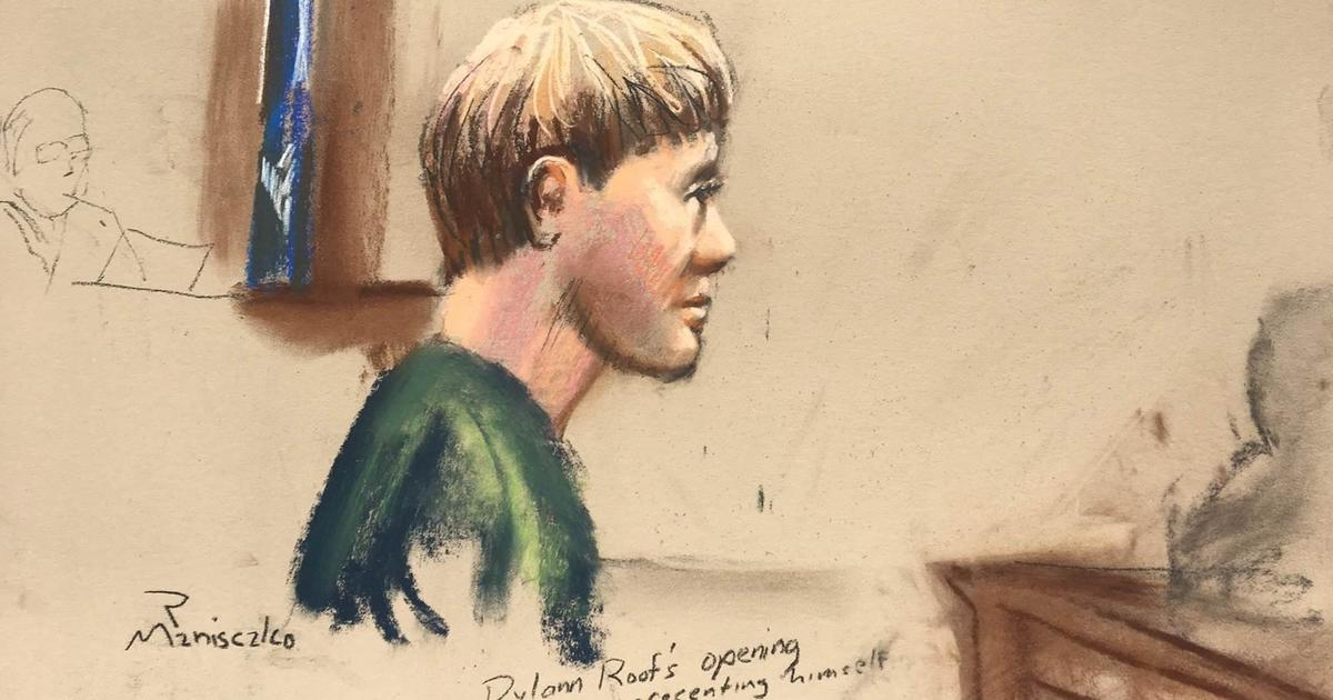 Dylann Roof Offers No Defense Against Death Penalty For