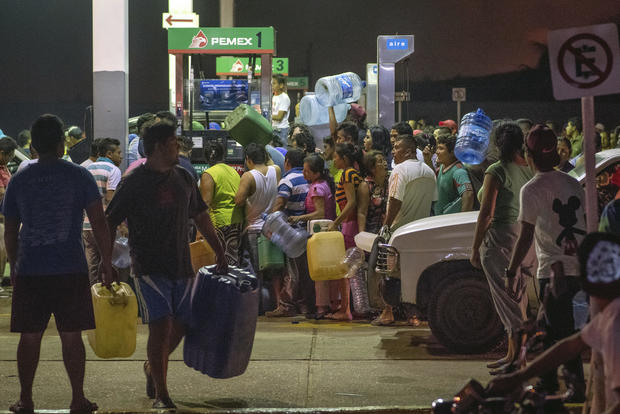 Gas hike protests in Mexico