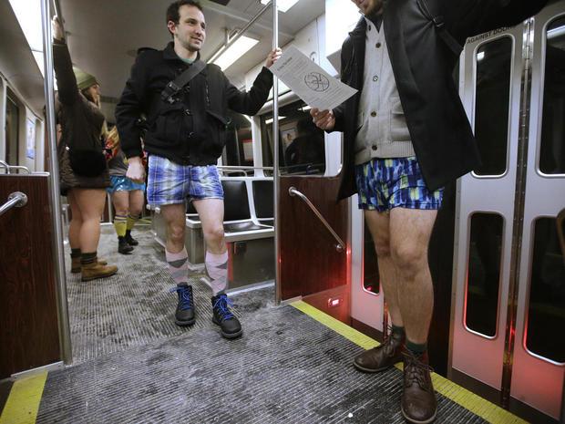No Pants Subway Ride 2017
