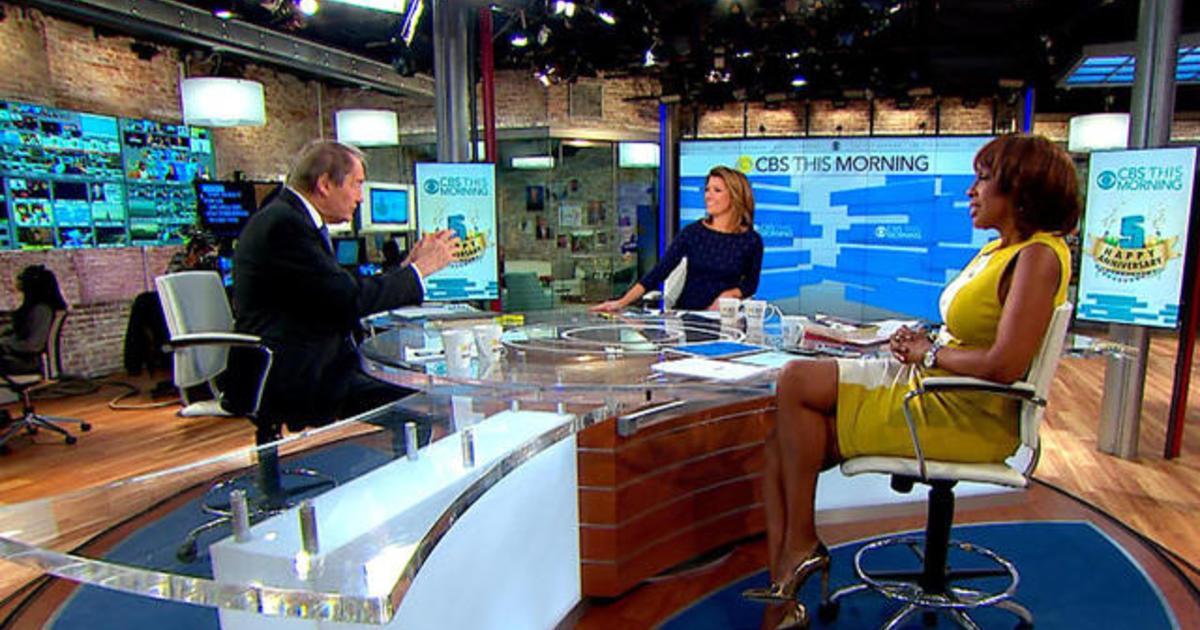 CBS News opens new newsroom, dubbed the 'News Hub'  |Cbs News People