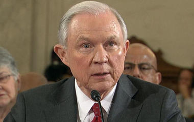 """Jeff Sessions reacts to being called a """"bigot"""""""