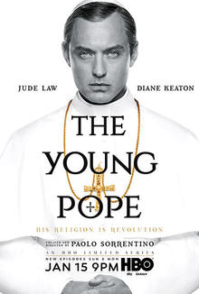 """Jude Law talks intrigue of """"The Young Pope"""""""