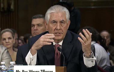 Rex Tillerson: I wouldn't necessarily put sanctions on a country conducting cyberattacks