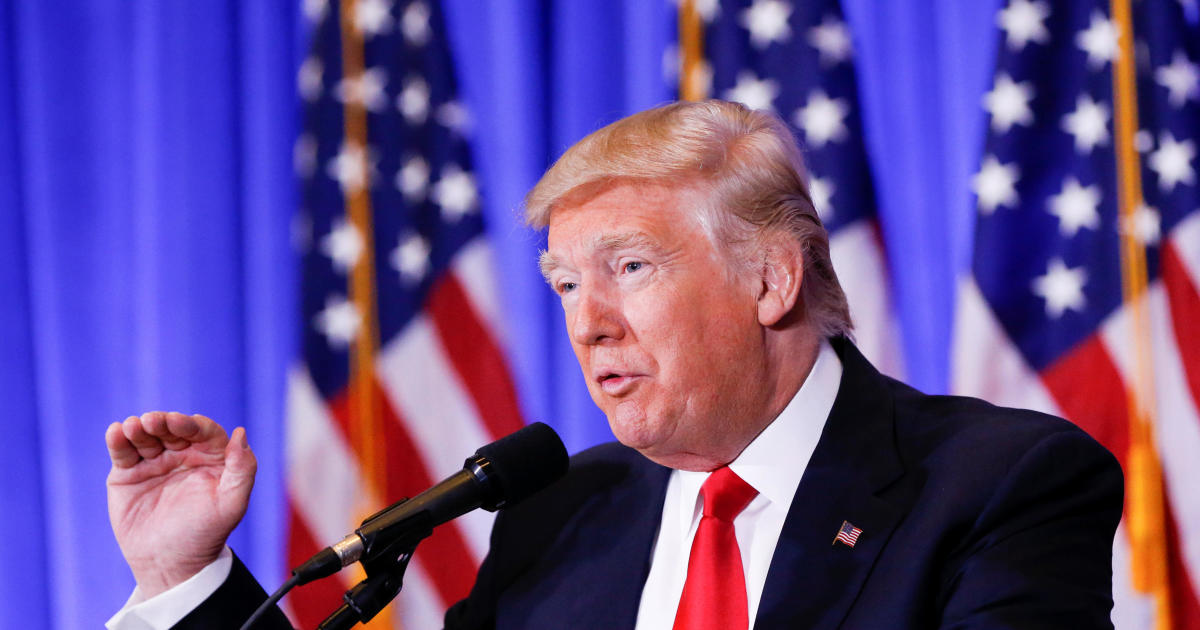 Donald Trump holds first post-election press conference