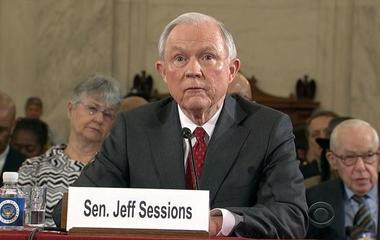 Sen. Jeff Sessions defends self, splits with Trump in confirmation hearing