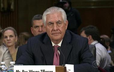 Rex Tillerson gets bipartisan grilling at confirmation hearing