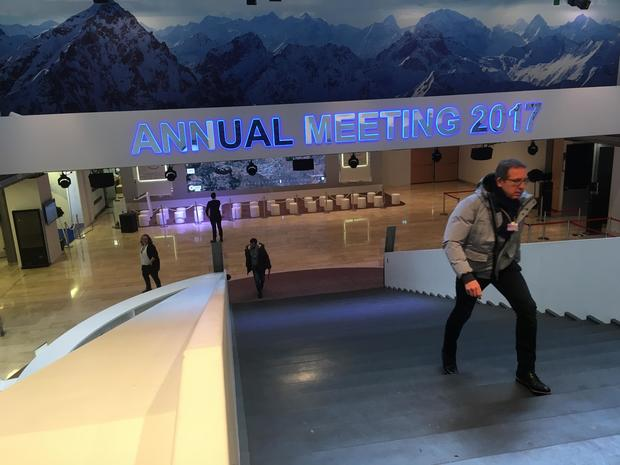 Behind the scenes of Davos 2017
