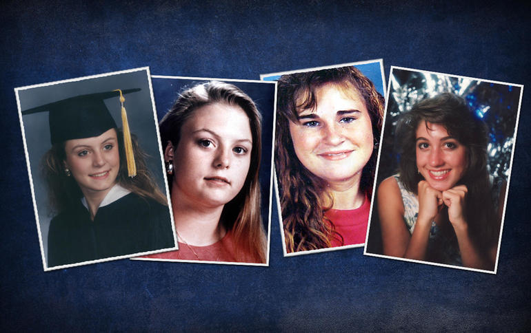 L-R: Jennifer Harbison, Sara Harbison, Amy Ayers and Eliza Thomas