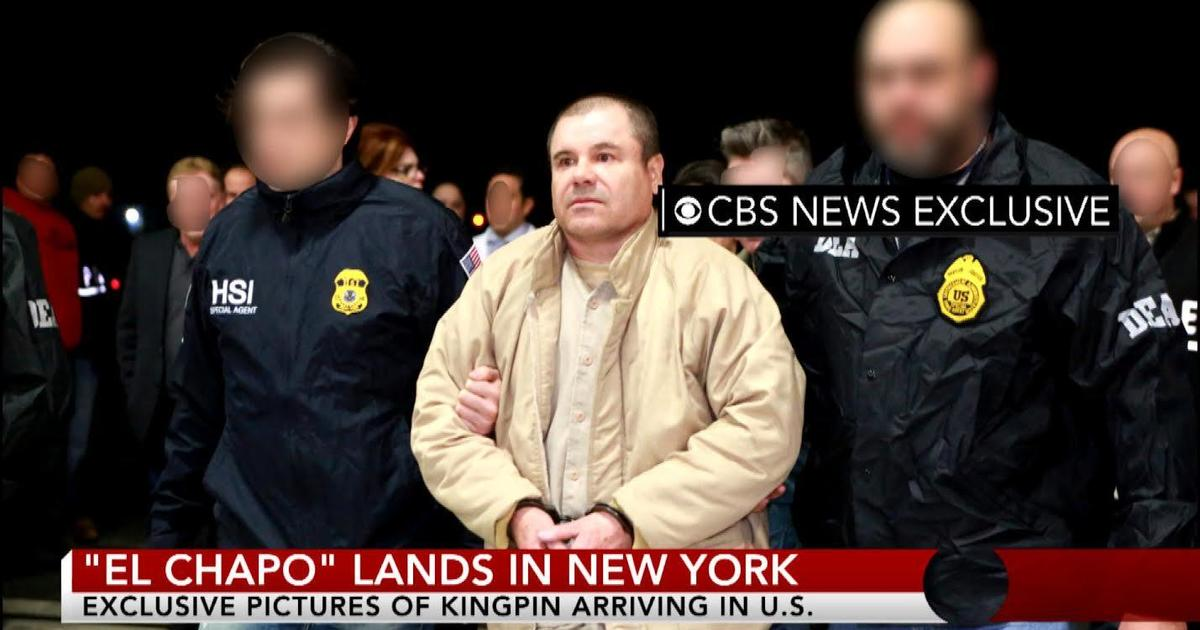 "Nyc Inauguration Day >> Mexico says it has extradited drug lord Joaquin ""El Chapo"" Guzman to U.S. - CBS News"
