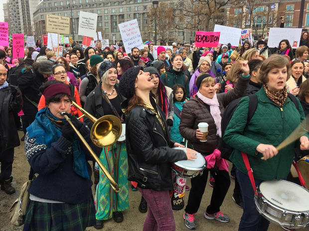 Women's March, in Washington and around the world