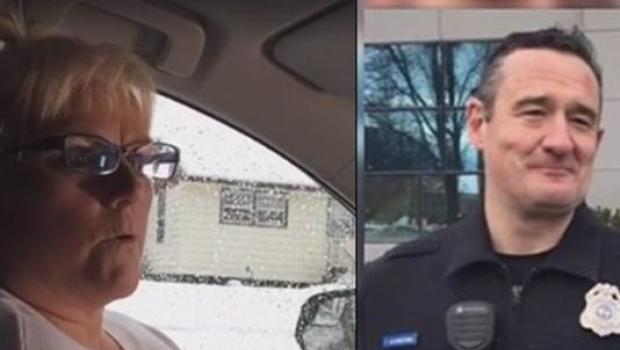 Body cam footage shows Washington officer rescuing woman from burning vehicle