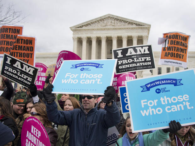 Abortion opponents march in D.C.