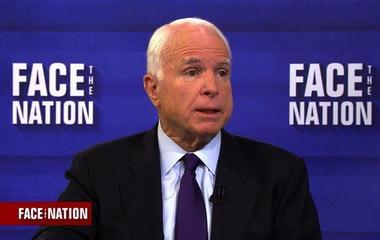 "McCain says immigration ban ""will probably give ISIS more propaganda"""