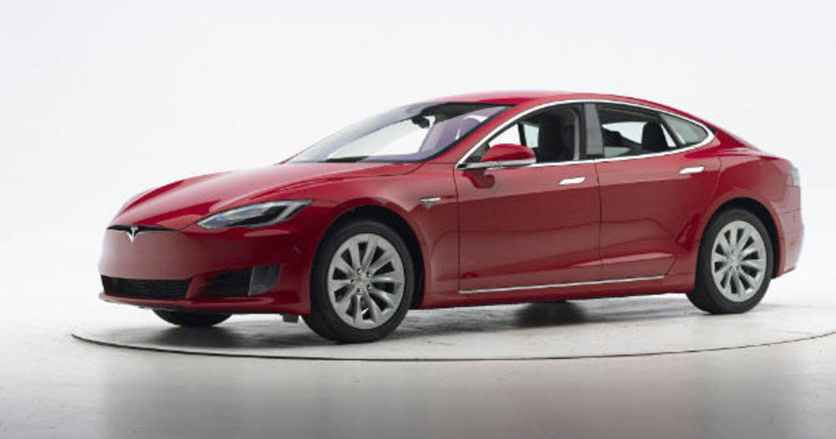 Tesla, BMW electric cars miss top insurance crash test grades