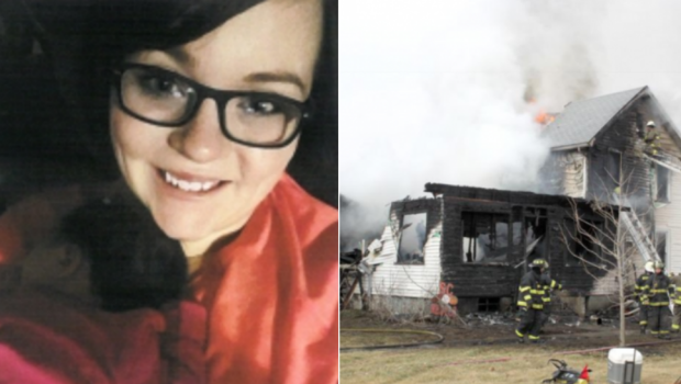 Mom sacrifices life to save newborn baby from fire