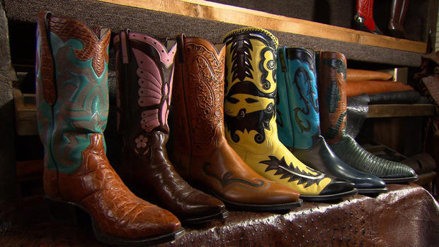 Custom cowboy boots: A dying art - CBS News