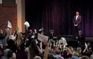 Chaffetz faces angry town hall