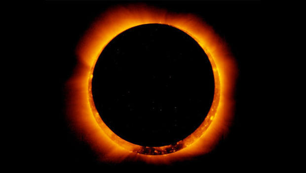 The many famous solar eclipses in story