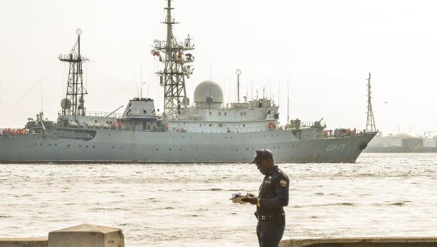 Russian Spy Ship Returns to US Coast, Seen Off Georgia