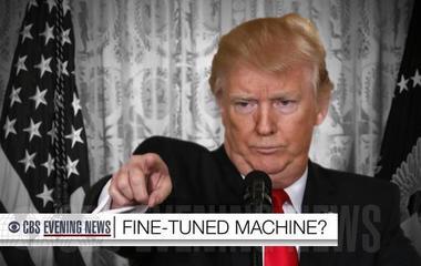 "Scott Pelley: Trump's ""bluster, bravado, exaggeration"" on display at news conference"