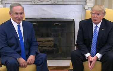 Trump shifts U.S. approach on Middle East peace