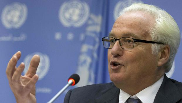 Russia's United Nations ambassador Vitaly Churkin dies at work