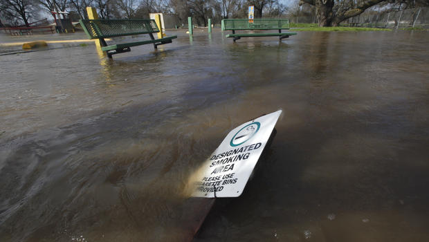 Evacuations called as levee breaks in California