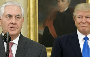 Where does Rex Tillerson stand in the Trump administration?